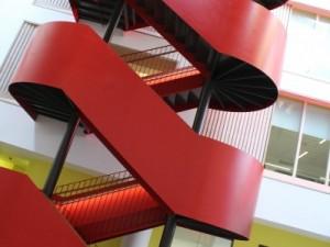 Wooden Stair Handrail