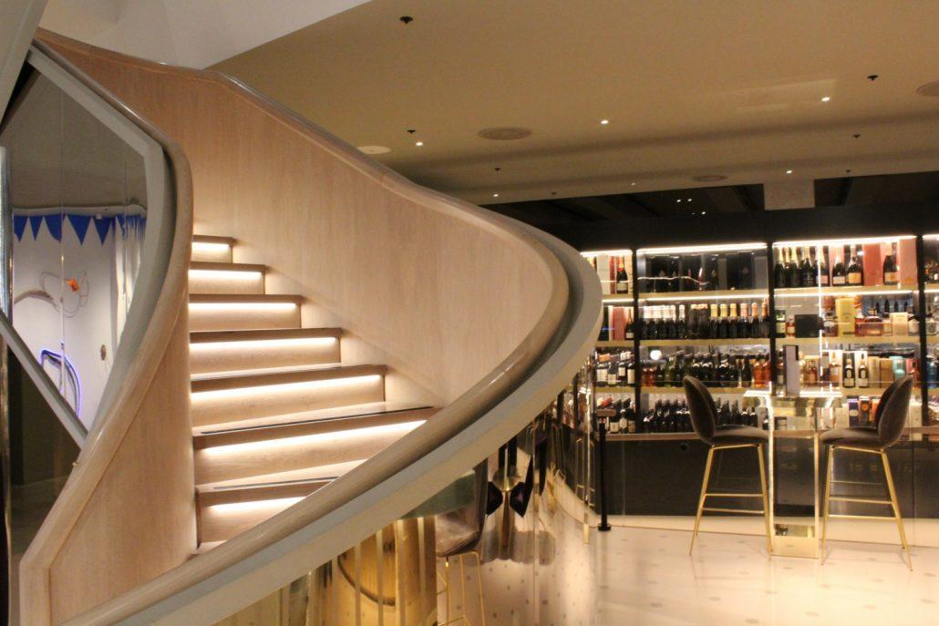 harvey nichols birmingham handrail creations ltd. Black Bedroom Furniture Sets. Home Design Ideas