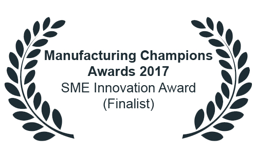 Manufacturing Champions Awards 2017 – SME Innovation Award (Finalist)