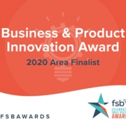 Business & Product Innovation Award 2020