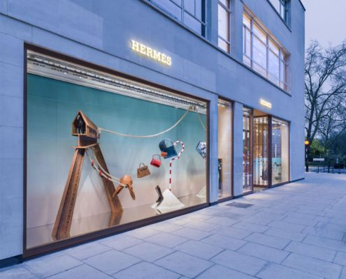 Hermes entrance