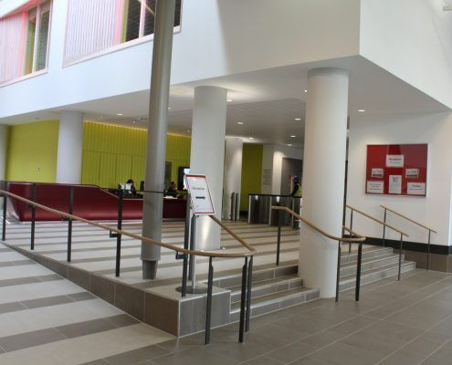 oak handrails
