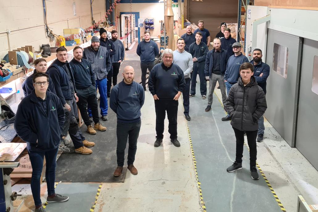 Handrail Creations team