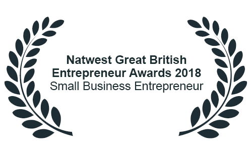 Natwest Great British Entrepreneur Awards 2018 - Small Business Entrepreneur